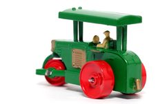 Old Toy Car Road Roller 3 Royalty Free Stock Photos