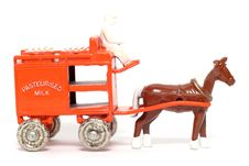 Free Old Toy Car Horse Drawn Milk Float Royalty Free Stock Image - 1973366