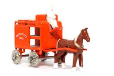 Free Old Toy Car Horse Drawn Milk Float 2 Stock Photos - 1973373