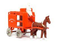 Old Toy Car Horse Drawn Milk Float 2 Stock Photos
