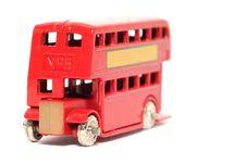 Old Toy Car London Bus 2 Stock Photos