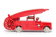 Free Old Toy Car Denis Fire Engine Stock Photo - 1973420