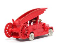 Free Old Toy Car Denis Fire Engine 3 Stock Photos - 1973443