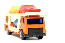 Old Toy Car Car Transporter Royalty Free Stock Photo