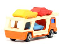 Free Old Toy Car Car Transporter 2 Royalty Free Stock Photos - 1973918