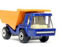 Old Toy Car Atlas Truck 2 Stock Photo