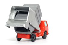 Free Old Toy Car Refuse Car Stock Photos - 1973993