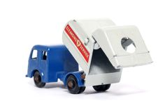 Old Toy Car Tippax Refuse Collector Royalty Free Stock Images