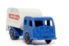 Old Toy Car Tippax Refuse Collector 2 Stock Images