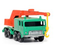 Free Old Toy Car 8 Wheel Crane 2 Stock Photography - 1974082