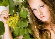 Free Beautiful Green Grape Royalty Free Stock Image - 1974516