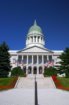 Free Maine State House, Augusta Royalty Free Stock Images - 1975239