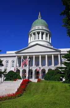 Free Maine State House, Augusta Royalty Free Stock Photography - 1975247