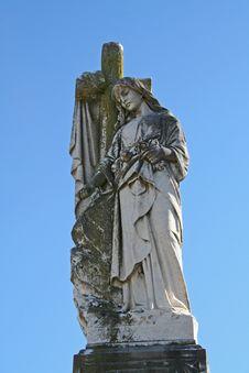 Angel Praying Stock Image