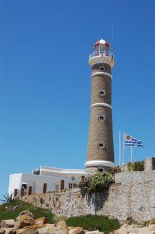 Free Lighthouse At Jose Ignacio Royalty Free Stock Photo - 1975975