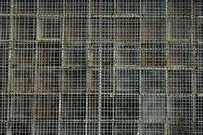 Rusty Wire Mesh Background Stock Images