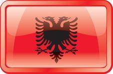 Free Albania Flag Icon Royalty Free Stock Photos - 1977428
