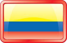 Free Columbia Flag Icon Royalty Free Stock Photo - 1977455