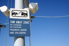 Free Tow Away Zone Stock Photography - 1979532