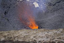 Free Red Hot Magma Stock Image - 1979821