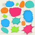 Free Colorful Different Speech Bubbles. EPS8 Stock Photography - 19701172