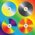 Free Compact Discs Stock Photo - 19706840