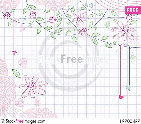 Free Babies Background Royalty Free Stock Photography - 19702497