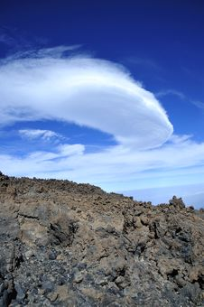 Free Mountain On Tenerife, El Teide Volcano Royalty Free Stock Image - 19700856