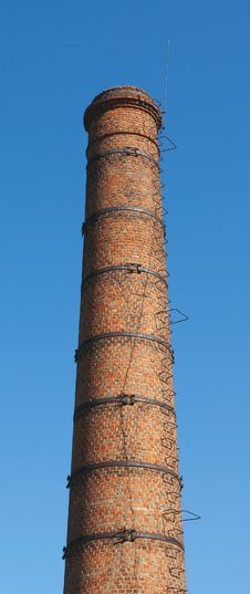 Free The Old Brick Chimney Royalty Free Stock Photography - 19701307