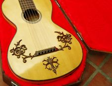 Free Close Up Of Guitar Royalty Free Stock Photo - 19701775