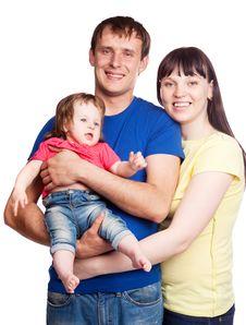 Free Happy Family Royalty Free Stock Photo - 19702165