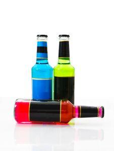 Free Set Wine Bottles 1 Stock Photo - 19702570