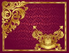 Free Ornate Blank Royalty Free Stock Image - 19702986