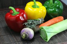Free Preparation Of Vegetables Royalty Free Stock Images - 19703099
