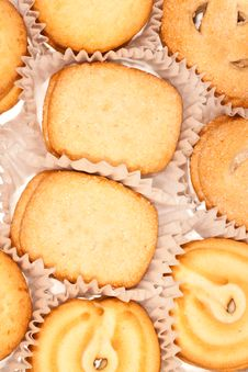 Free Danish Cookies Stock Image - 19703531
