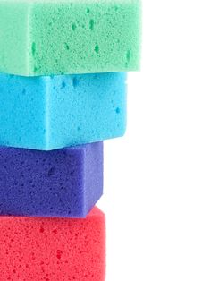 Free Colored Sponges Stock Photos - 19703893