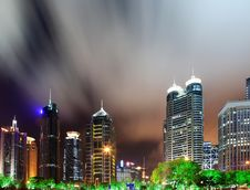 Free China Shanghai Panorama Stock Image - 19704301