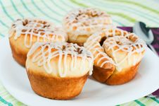 Free Rolled Muffins Stock Photo - 19705580