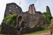 Free Ruin Of Castle Hohengeroldseck Royalty Free Stock Photos - 19705718