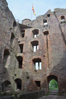 Free Ruin Of Castle Hohengeroldseck Royalty Free Stock Photos - 19705728