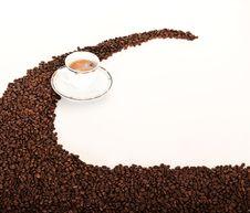 Free Fresh Hot Cofee Royalty Free Stock Image - 19706076