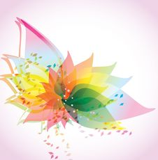 Free Abstract Floral Background Royalty Free Stock Photos - 19707428