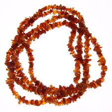Free Amber Necklace Royalty Free Stock Photography - 19707697