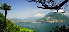 Lugano Royalty Free Stock Photo