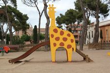 Free Giraffe In A Park Royalty Free Stock Image - 19707736