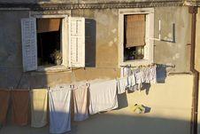 Free Croatia: Laundry Day Stock Photo - 19707830