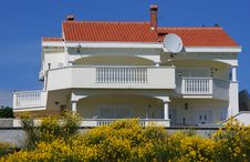 Villa - Elite House Stock Image