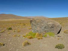 Free Uturunku Volcano, Altiplano, Bolivia. Stock Image - 19708811