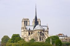 Free Notre Dame De Paris Stock Photography - 19709202