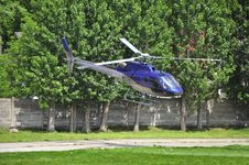 Free Departing Helicopter Royalty Free Stock Photos - 19709468